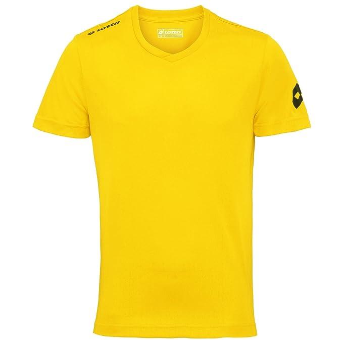 Lotto - Camiseta de fútbol Transpirable Modelo EVO para Hombre (Extra Grande (XL)
