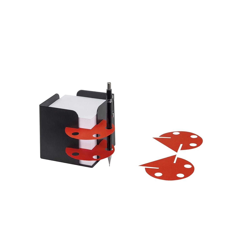 schwarz Material inclusive circa 850 Blatt holzfreies 80g//qm Papier Jalema 2299172090 Re-Solution Zettelw/ürfel