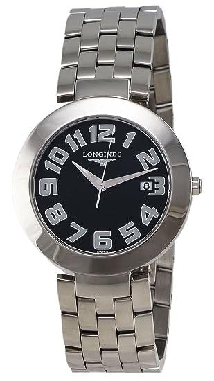 Longines - Reloj de pulsera hombre, acero inoxidable, color plateado: Amazon.es: Relojes