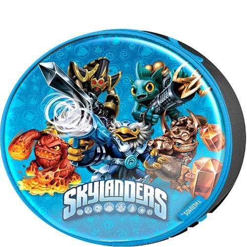 Price comparison product image Skylanders Trap Team Licensed Round Novelty Lunch Kit - 100% PVC Free with Peva Linings