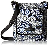 Vera Bradley Iconic RFID Mini Hipster, Snow Lotus