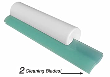 Cleret Dual Bladed Classic Shower Squeegee   Aqua USA