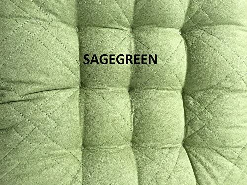 OctoRose Soft Micro Suede Dining Chair Cushion Pads Set of 4-17×17