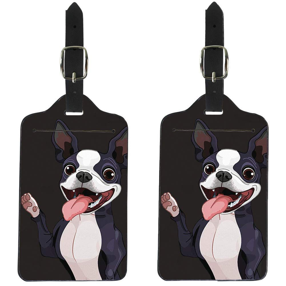 c01b52aa90d3 Amazon.com | Coloranimal 2 Pcs Set Luggage Tags for Women Ladies ...