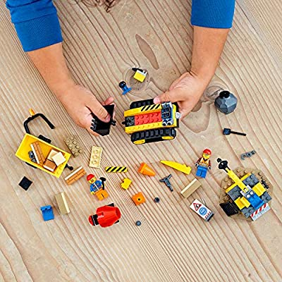 LEGO City Construction Bulldozer 60252 Toy Construction Set, Cool Building Set for Kids, New 2020 (126 Pieces): Toys & Games