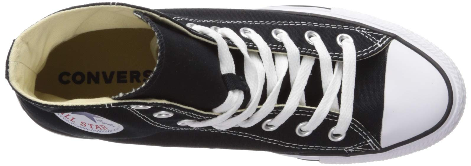 Chuck Taylor All Star Canvas High Top, Black, 4 M US by Converse (Image #13)