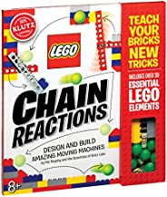 Klutz Lego Chain Reactions Science & Building Kit, Age 8, Multic