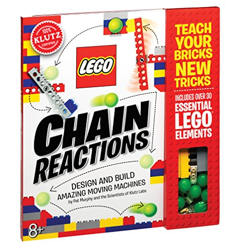 Klutz Lego Chain Reactions Science & Building Kit, Age 8 (Science Experiments For 2 3 Year Olds)