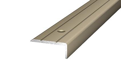 Perfil en ángulo (aluminio acero inoxidable 2700 x 24,5 mm ...
