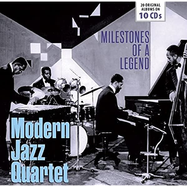 Milestones of a Legend: Modern Jazz Quartet 20 Original Albums: Modern Jazz Quartet: Amazon.es: Música