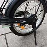 USONG Children's Bicycle Single-Side Stand Folding