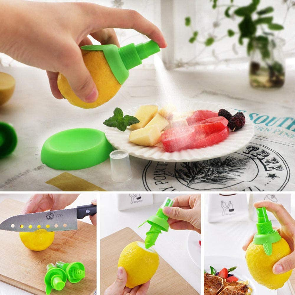 DTTBlue 4pcs Manual Juicer Orange Lemon Squeezers Lemorange Fruit Tool Citrus Spray Cooking Tools Kitchen Accessories