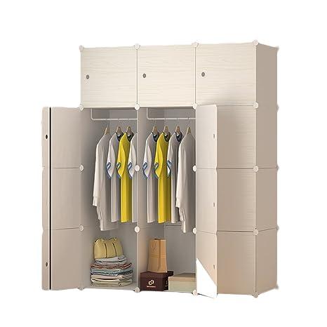 ETTBJA Armadio Cube Ripostiglio Per Camera Da Letto Organizer Portable  Resina Di Plastica Dimensioni 3