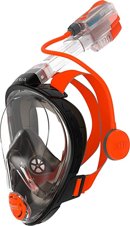 Ocean Reef Aria Full Face Snorkel Mask Renewed