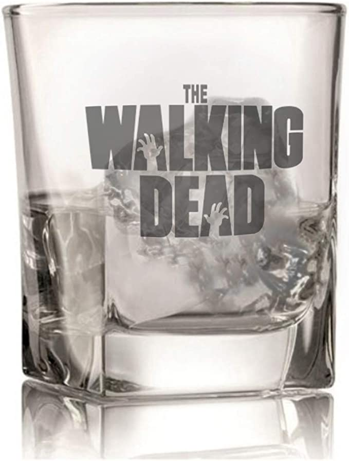 Vaso de whisky Walking Dead inspirado en la serie Premium Glass