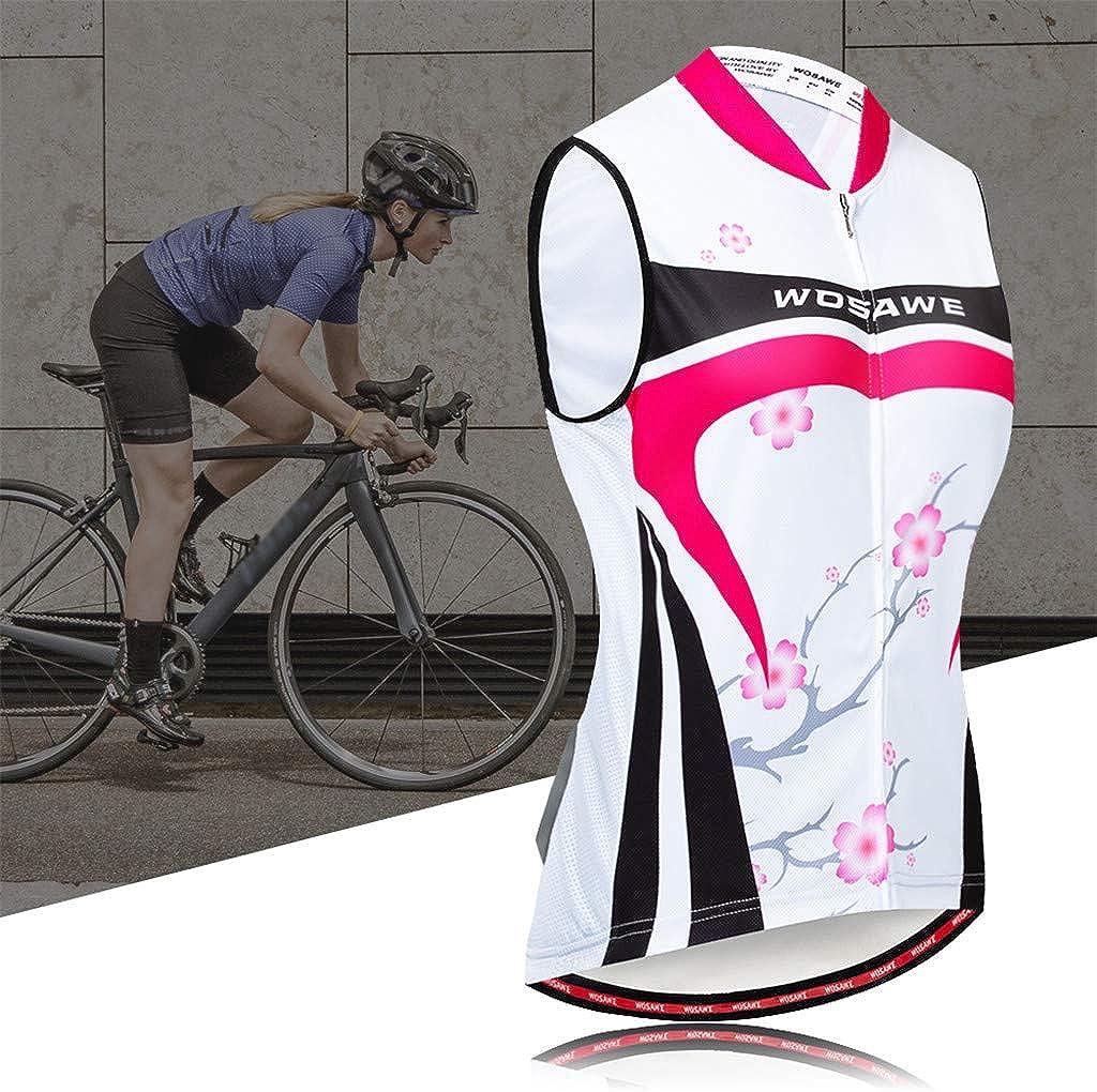 perfeclan Fahrradweste Reflektierende Radweste Fahrradtrikot f/ür Damen