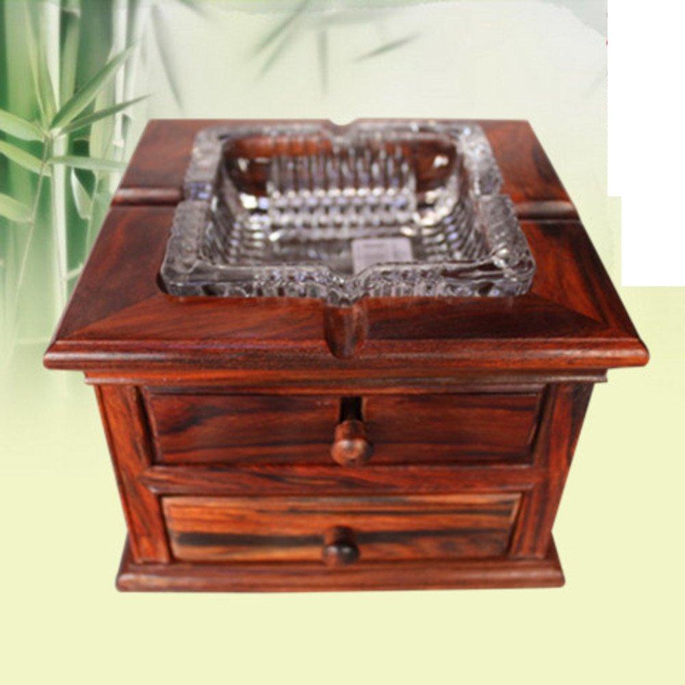 Wangs fashion ashtrays with drawer Decorative ashtray ornament