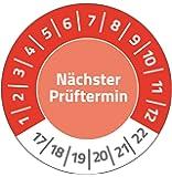 Avery Zweckform 6929prueba plaketten 20mm de diámetro, 8arco/120etiquetas), color rojo