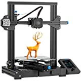 Official Creality Ender 3 V2 Upgraded 3D Printer Integrated Structure Designe with Carborundum Glass Platform Silent…