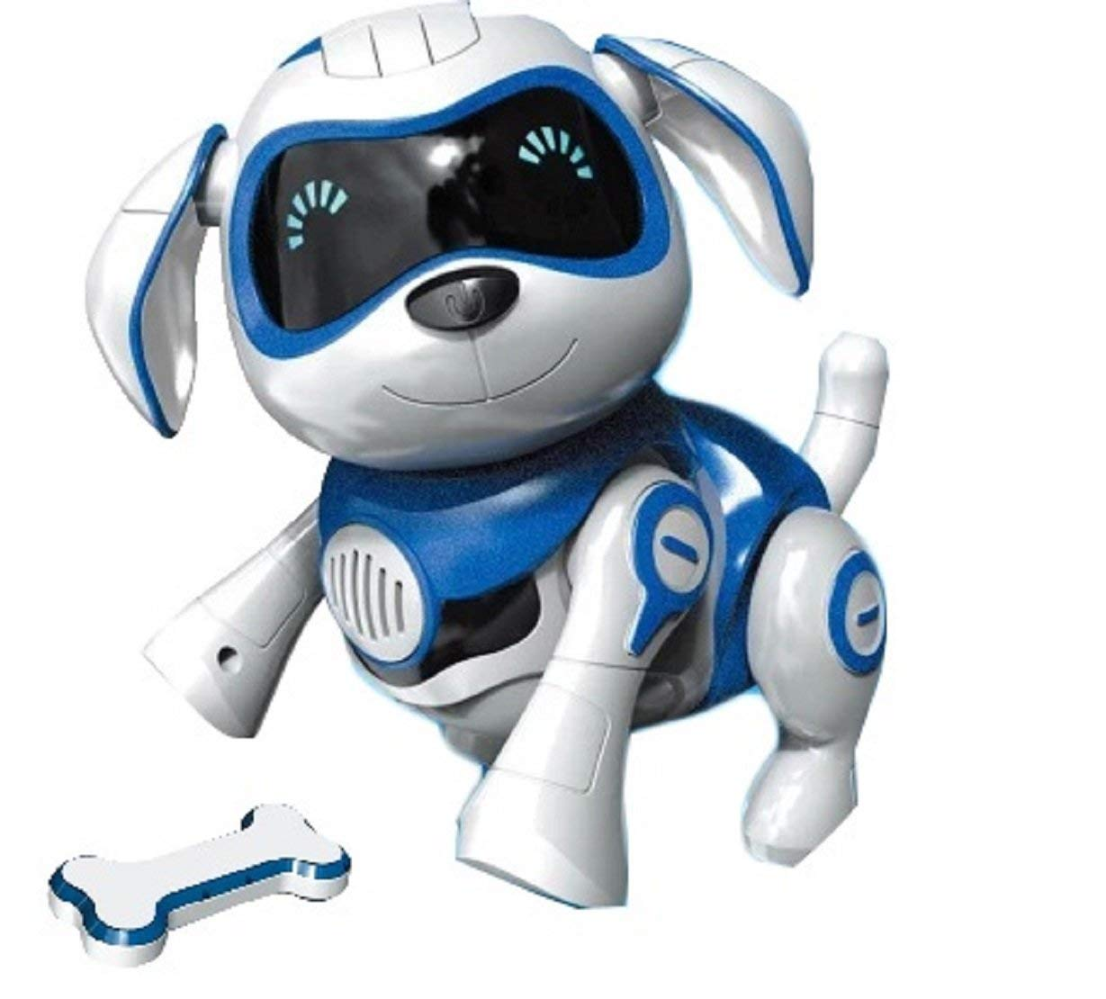 Yeezee Wirless Robot Puppy, Interactive Little Baby Pup with Magent Bone, Walking Talking Remote Control Dog, Robot Pet for Kids/Boys/Girls (BB-1) by Yeezee (Image #2)