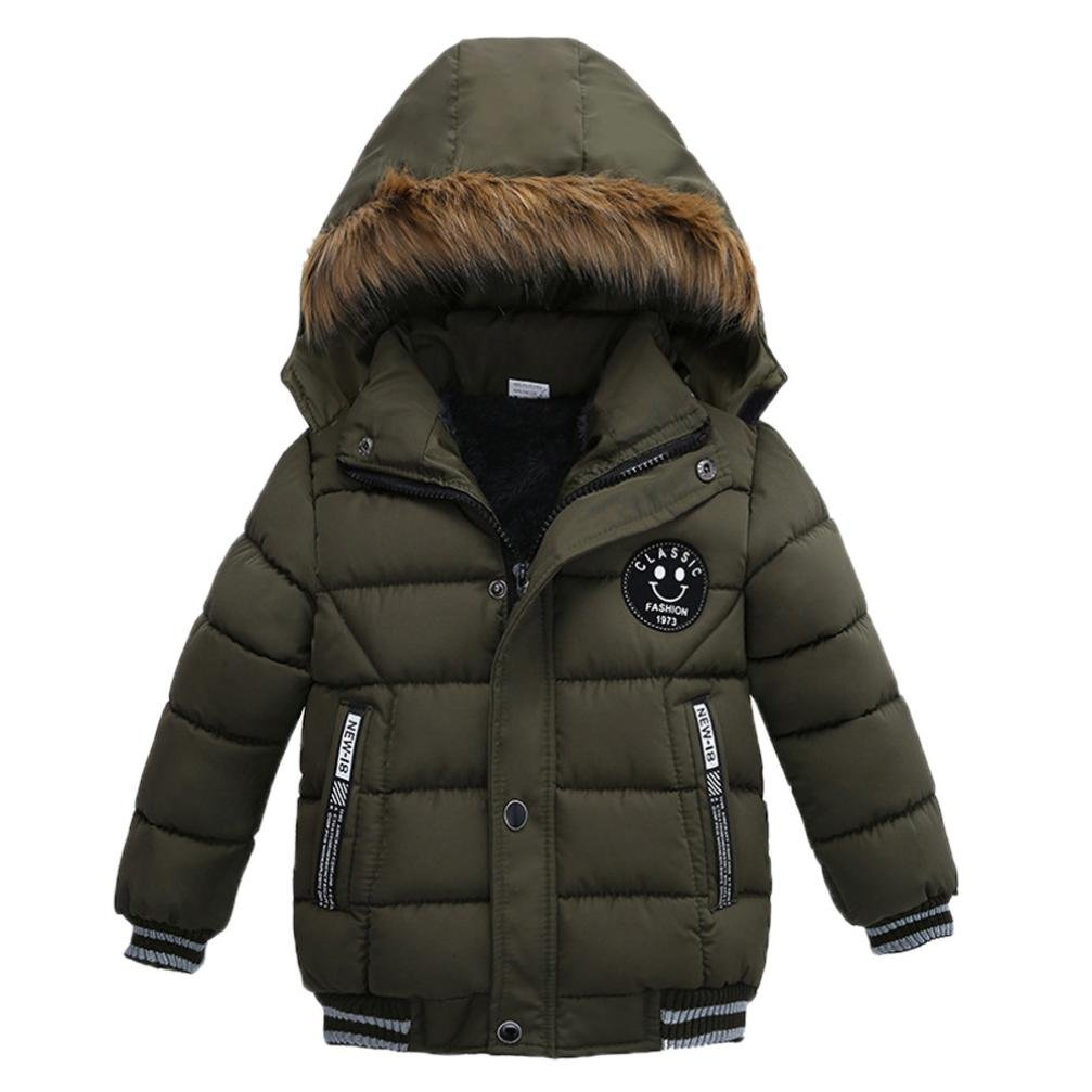 Stylish Baby Girl//Boy Thick Winter Hooded Coat Outwear JPOQW TM