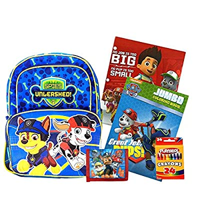 chic Paw Patrol Backpack   Activity Set - Backpack a31281b1515ea