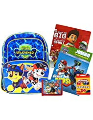 Paw Patrol Backpack & Activity Set - Backpack, Folder, Activity Book, Crayons, and Foam Ball or Wallet!