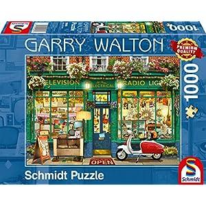 Schmidt Spiele 59605 Puzzlegarry Walton 1000 Pezzi Multicolore