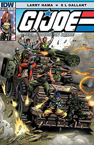 Amazon.com: G.I. Joe: A Real American Hero #196 eBook: Larry ...