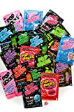 Pop Rocks Candy Ultimate 9 Flavor Assortment - Strawberry, Cherry, Tropical Punch, Watermelon, Blue Raspberry, Bubble Gum, Cotton Candy, Grape, Green Apple 18 Packs Total With Licensed Sticker
