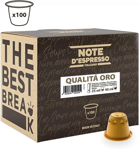 Note DEspresso - Cápsulas de café