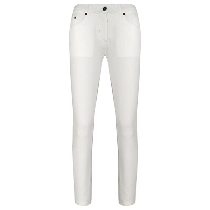 07d951ba80c4d Amazon.com: A2Z 4 Kids® Girls Skinny Jeans Kids White Stretchy Denim  Jeggings Fit Pants Trousers 5-13 Yr: Clothing