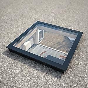 Vidrio claraboya quebrantahuesos para techos planos 1200 x - Tragaluces para tejados ...