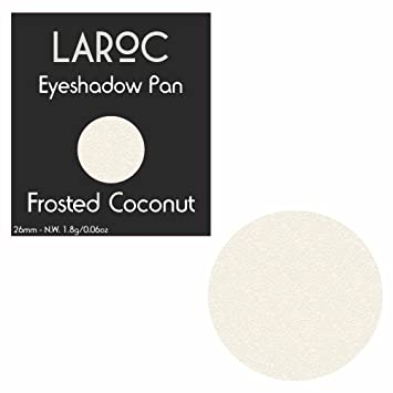 7ca93dee5 LaRoc Shadow Bed Magnetic Makeup Single Pan Refill Eyeshadow - Frosted  Coconut - 26mm: Amazon.co.uk: Beauty