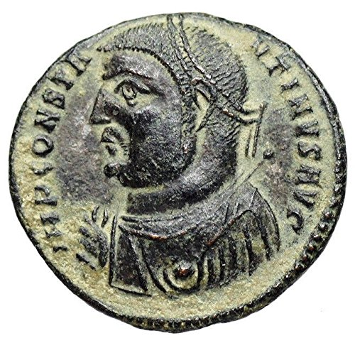 IT 317-320 AD Ancient Imperial Rome Roman Empire Emperor Constantine the Great Authentic Antique Coin Folllis Good