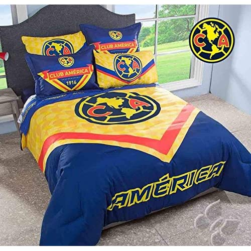 Discount JORGE'S HOME FASHION INC BEST SELLER THE BEST TEAM AGUILAS DEL AMERICA ORIGINAL LICENSE TEENS BOYS WONDERFUL DESIGN COMFORTER SET 2 PCS TWIN SIZE supplier