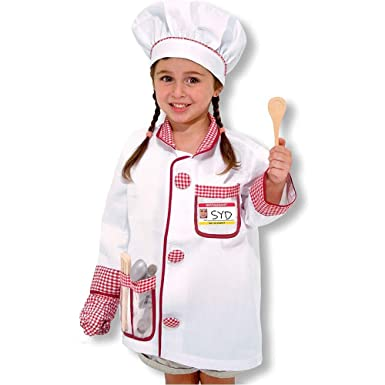 Kids Chef Costume  sc 1 st  Amazon.com & Amazon.com: Kids Chef Costume: Clothing