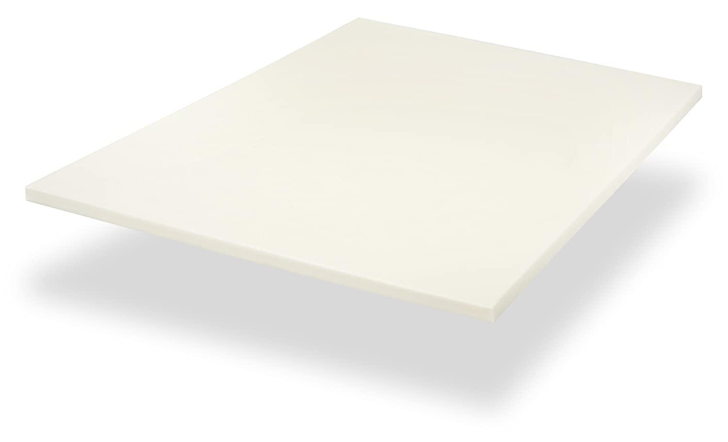 Red Nomad - Queen Size 2 Inch Thick, Ultra Premium Visco Elastic Memory Foam Mattress Pad Bed Topper - Made in the USA