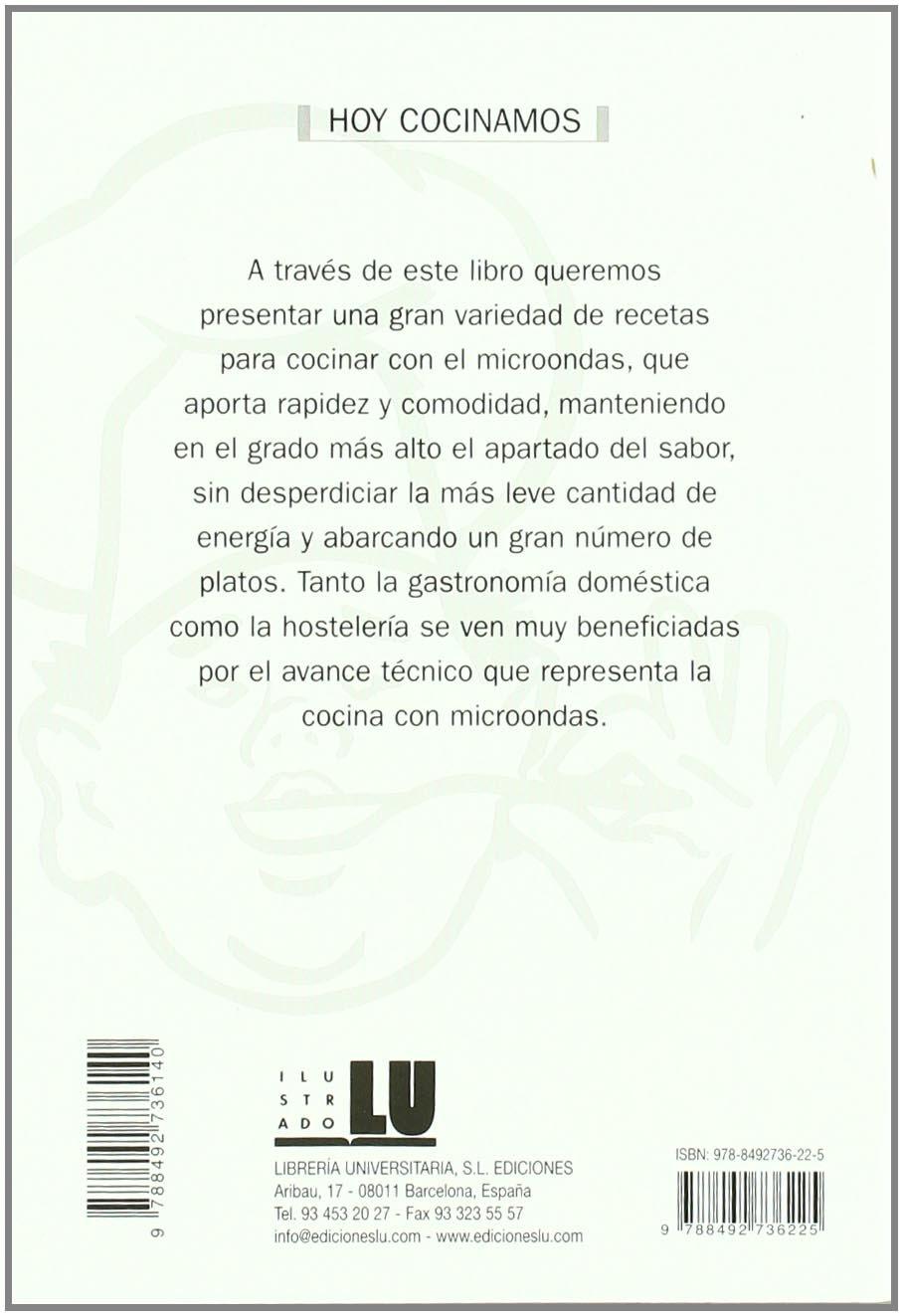 Hoy cocinamos-Microondas: Amazon.es: Louis Adams: Libros