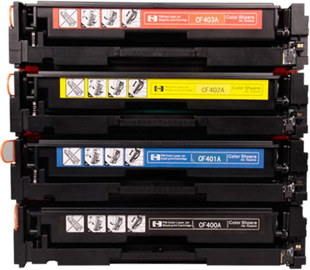 277dw color laser printer toner cartridge M277n M277 HD with chip-Fourcolorcombin M252n 4 sets of environmental protection M252dw 201A CF400A toner cartridge for HP Color LaserJet Pro M252