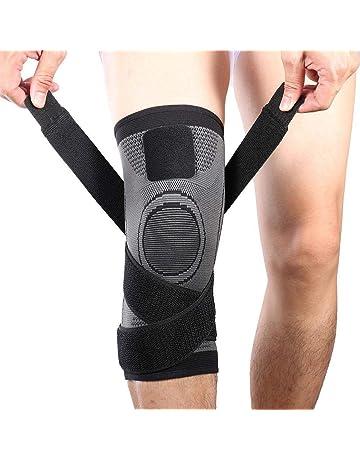 f540569aa4 Vitoki Compression Knee Sleeve Knee Brace for Men   Women Knee Support for  Running
