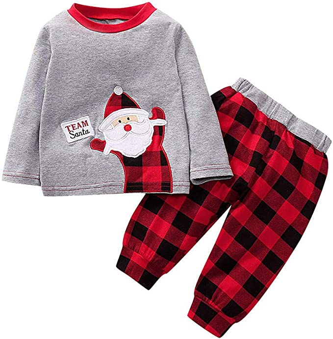 Conjuntos Bebé Niña Navidad 2pcs Conjunto Ropa Bebe Unisex Recien ...