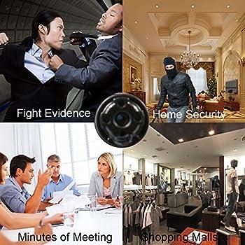 HD1080P Mini Hidden Spy Wifi Camera UYIKOO P2P Wireless IP Camera Motion Detection Remote View
