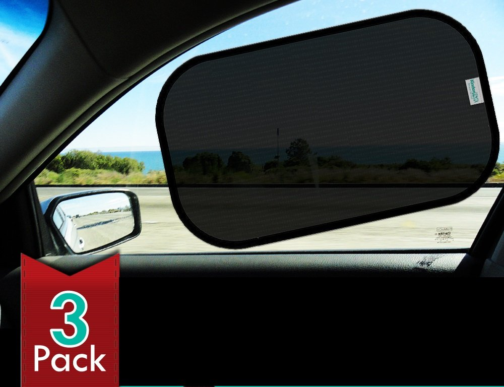 "Car Sun shade(3px)-80 GSM for Maximum UV protection-Extra large-20""x12""sunshades"