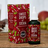 Good Good Stevia Drops from Iceland(50ml) - Strawberry! Sugar Free and All Natural! Diabetic Friendly! Perfect With The Morning Coffee, Tea, Smoothie or Oats! Baking Has Never Been Healthier!