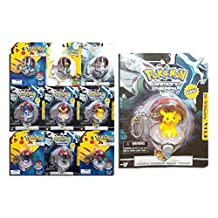3 x Rare Assorted Pokemon Keyring Poke Ball Keychains by My Planet