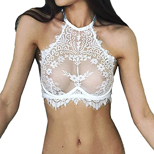 2379f46e87330 Amazon.com  OrchidAmor Women Sexy Lace Holloed Teddy Lingerie Lace Night  Out Soft Comfy Push Up Top Bra Underwear Nightwear for Women  Clothing
