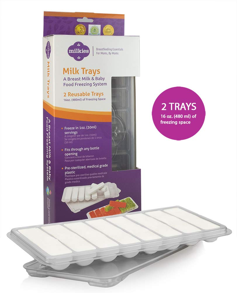 Milkies Milk Trays: Freeze Your Milk in 1oz Sticks