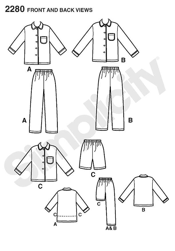 Pijamas para bebe moldes | Pijamas.de