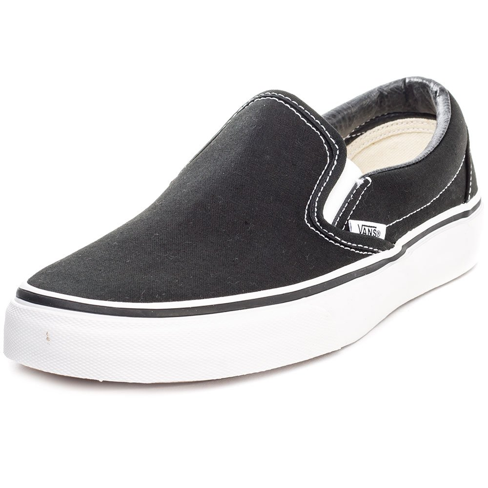 [バンズ] VANS スニーカー Classic Slip-on B01LYC0B4X 11.5 B(M) US Women / 10 D(M) US Men|ブラック ブラック 11.5 B(M) US Women / 10 D(M) US Men